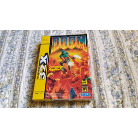Doom Sega 32x Completo (cib) Japonês