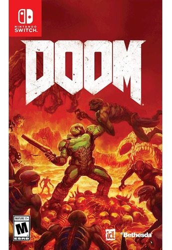 doom switch //fisico sellado// //mathogames//