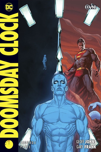 doomsday clock vol.2 watchmen - dc comics - robot negro