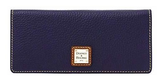 Dooney /& Bourke Pebble Leather Slim Snap C Card Wallet Clutch ZR035 MD /…
