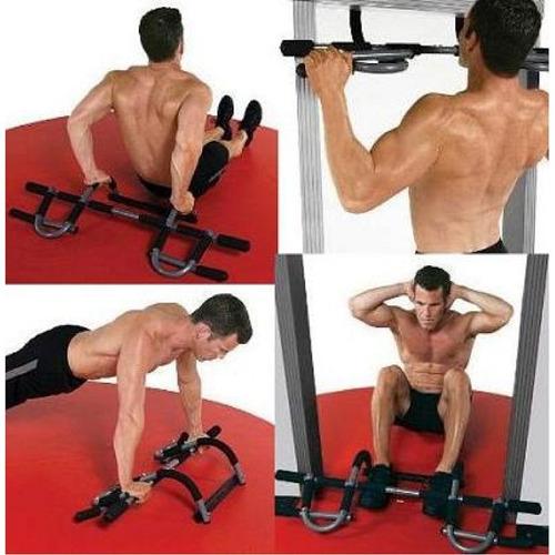 door gym barra multifuncion dominadas ejercicios