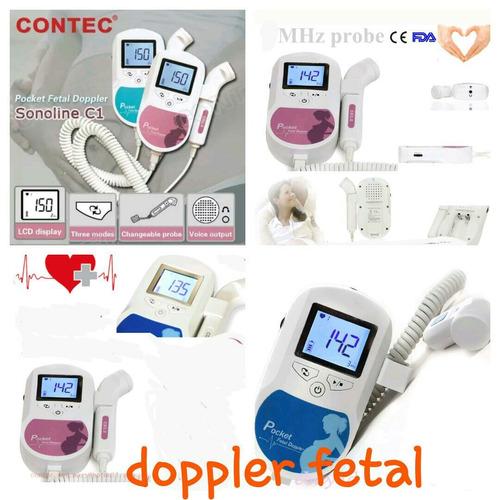 doppler fetal manual contec