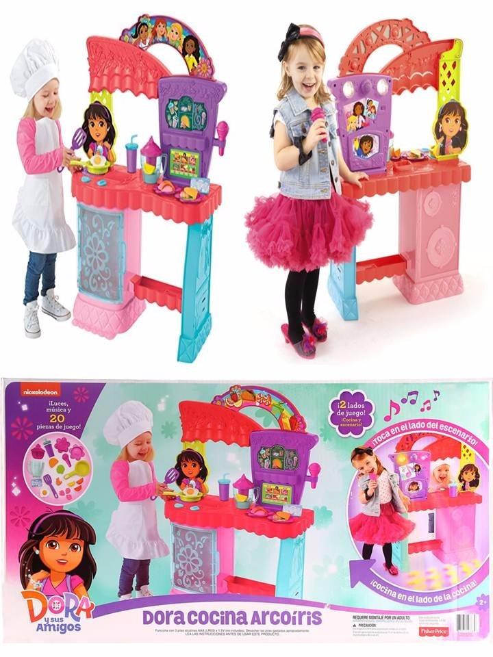 Dora la exploradora cocina karaoke arcoiris remate 50 en mercado libre - Dora la exploradora cocina ...