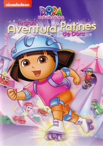 dora la exploradora la gran aventura en patines serie dvd