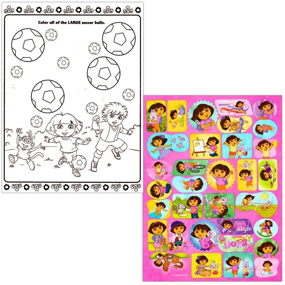 Dora La Exploradora Libro Para Colorear Super Set - 2 Libros ...