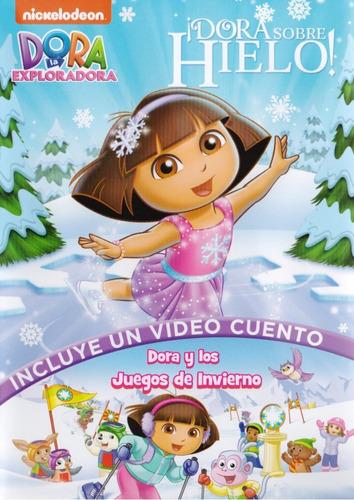 dora la exploradora sobre hielo 3 episodios serie dvd