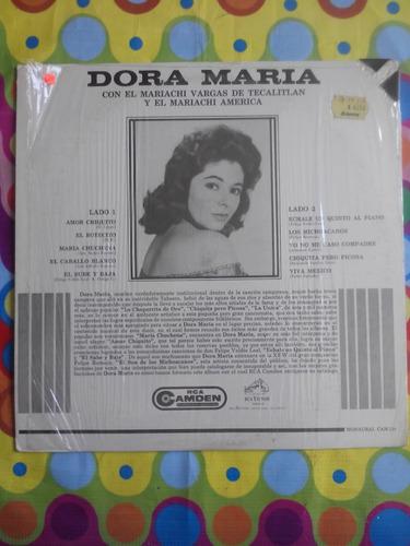 dora maria lp con el mariachi vargas de tecalitlan. 1964