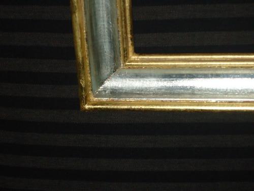 dorado y plat./ restauracion de marcos//pinturas
