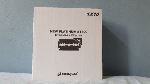 dorco  new platinum coating st300 blue