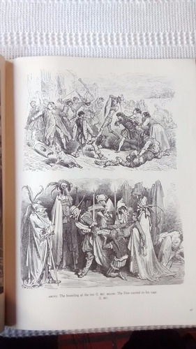 dore illustrations for don quixote 190 illustrations ingles
