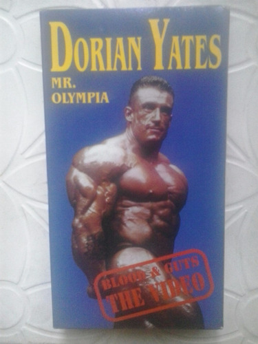 dorian yates mr. olympia - blood and guts the video vhs