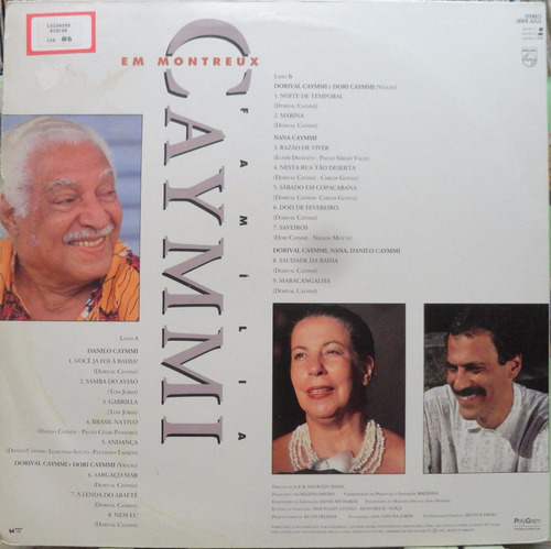 dorival nana danilo caymmi familia montreux lp philips encar