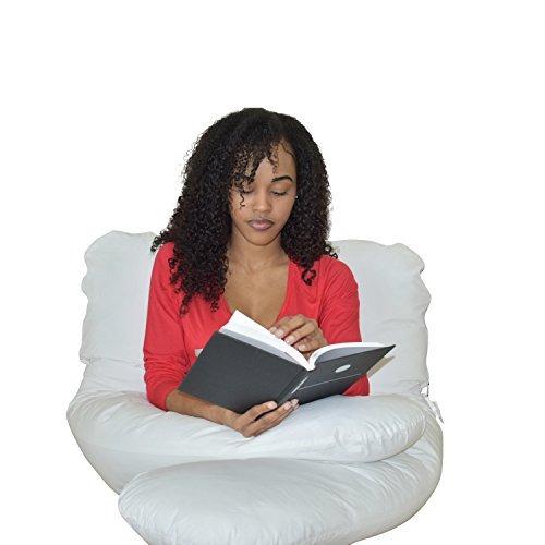 dormitar comodidad acogedora almohada de embarazo de cuerpo