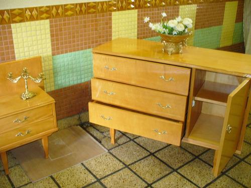 dormitor antiguo  comoda mesitas espejo cama estilo luis xv