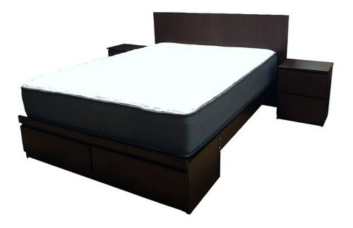 dormitorio 2 plazas: cabecera | 2 veladores | sabanera