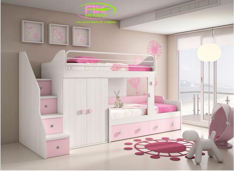Dormitorio cama escritorio closet a medida en - Dormitorio a medida ...