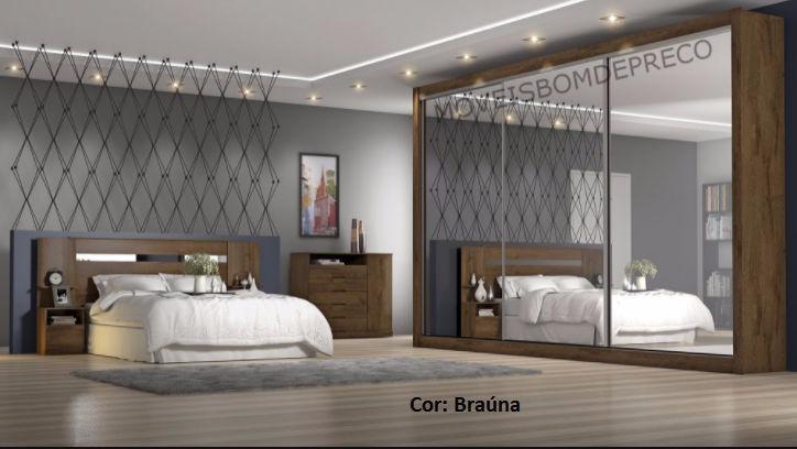 Dormit rio casal toronto 3 espelhos fundo 3mm europa r for Dormitorio 2x3