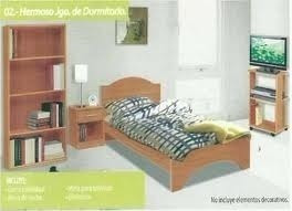 dormitorio individual juego