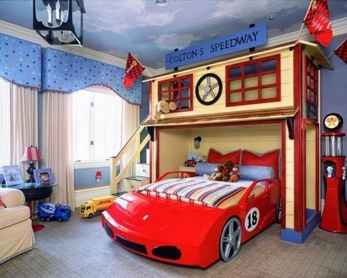 dormitorio infantil de ferrari