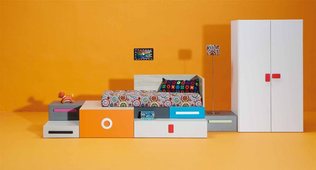 Dormitorio infantil directo de fabrica en for Fabricas de muebles en montevideo uruguay