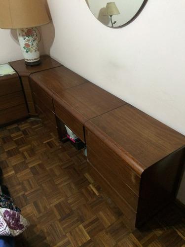 dormitorio - juego - único - miralo - de madera - antiguo