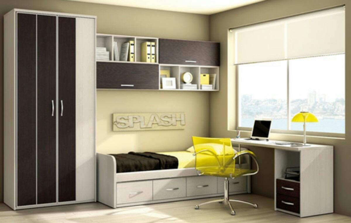 Dormitorio juvenil camade 1 1 2 con cajones u s 980 00 - Fotos de dormitorios juveniles modernos ...