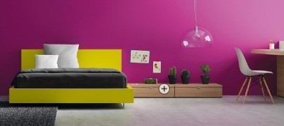 dormitorio juvenil minimalista