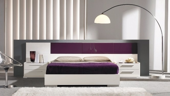 Dormitorio Lineal Moderno,cama 2 Plz+ 2 Veladores Dl 6 - U ...