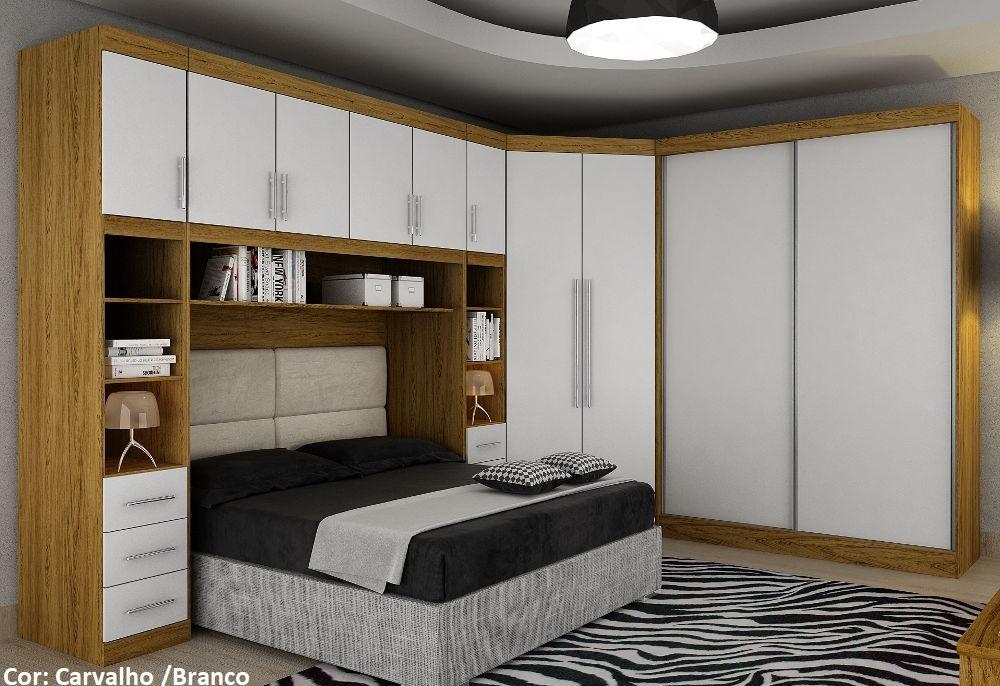 Dormitorio Roma ~ Dormitório Modulado Casal Roma 100% Mdf Bianchi Móveis R$ 5 681,90 em Mercado Livre
