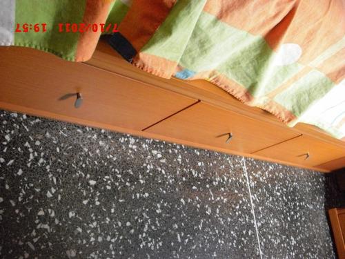 dormitorio o cuarto matrimonial mdf madera color cerezo
