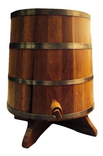 dorna de carvalho 5 l / barril /corote/tonel / tina/presente