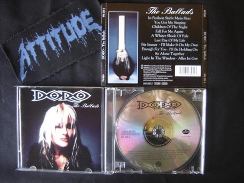 doro (ger) - the ballads - importado