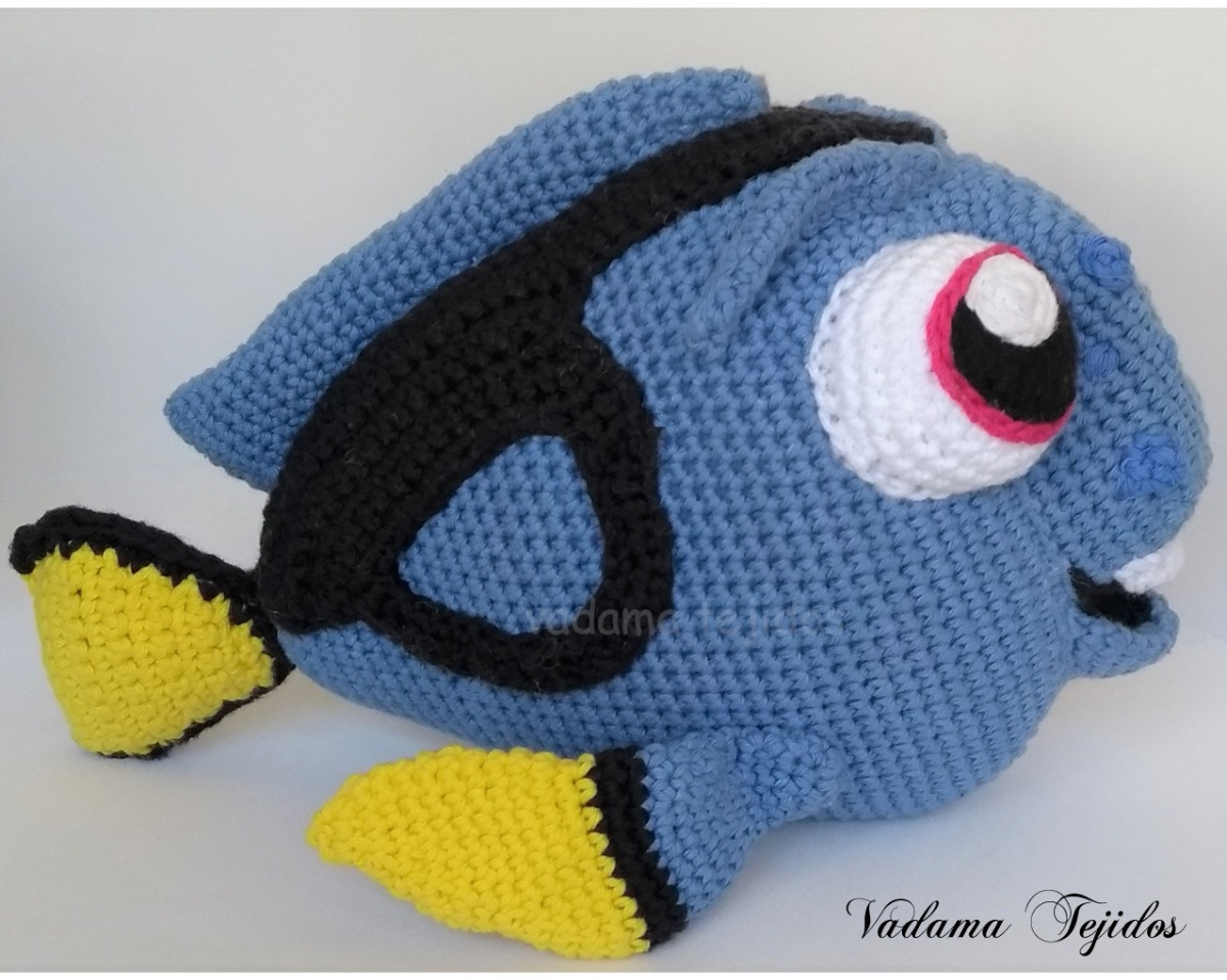 Who wouldn't fall in love with this adorable Dory crocheted ... | 959x1200