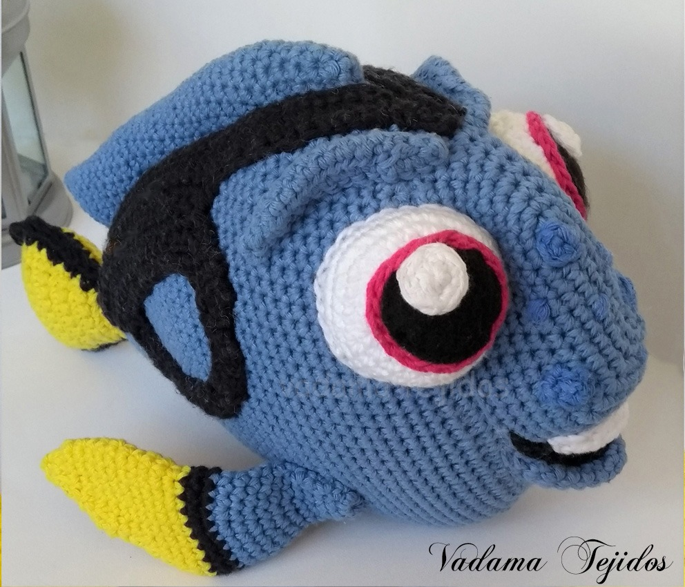 Nemo y Dori | Crochet motif, Crochet patterns, Crochet | 850x992