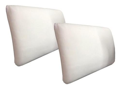 dos almohadas espuma viscoelastica - memoria  - inteligente