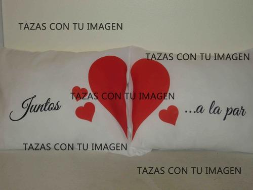 dos almohadones personalizados - incluye funda+relleno