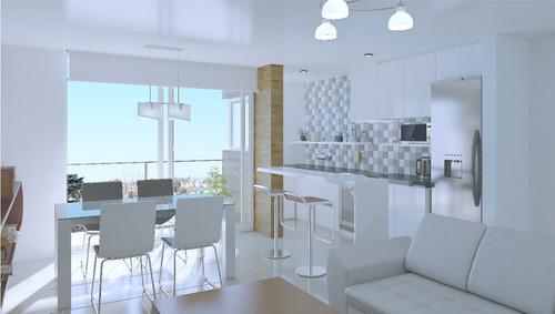 dos ambientes 60m2 en construcción zona güemes