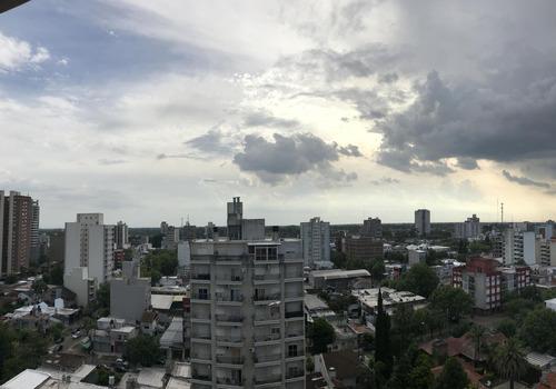 dos ambientes con balcon edificio libere