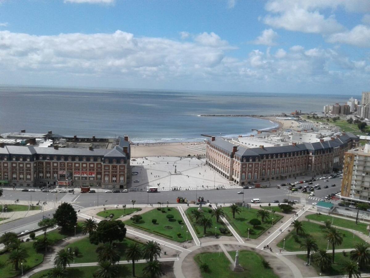 dos ambientes con balcon y vista al mar