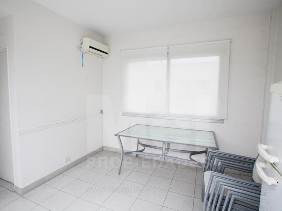 dos ambientes con cochera, baulera y amenities. luz y sol