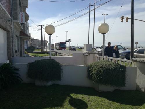 dos ambientes contrafrente , edificio frente al mar
