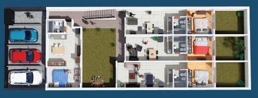 dos ambientes en planta baja y patio usd 40.000!!!