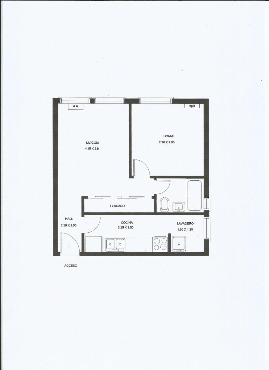 dos ambientes excelente ubicación amplio cocina separada