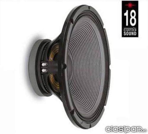 dos bocinas eighteen sound 18lw2400 nueva envio gratis