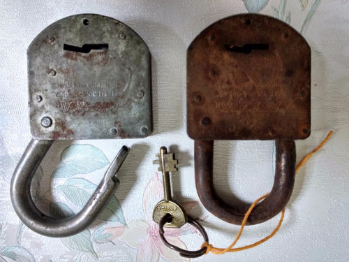 dos candados llave
