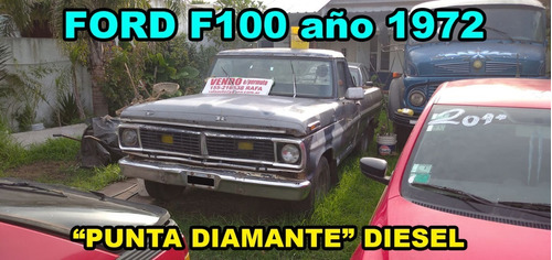 dos ford f-100 año 1980 sin motor