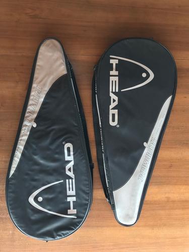 dos fundas para raquetas marca head
