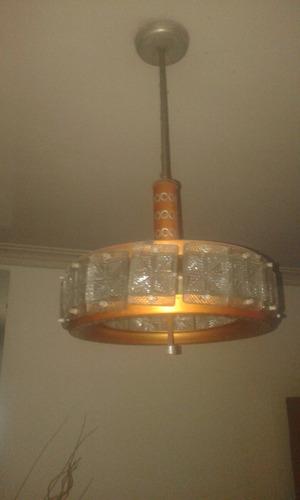 dos lamparas con 4 luces