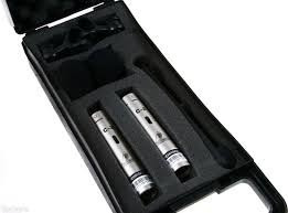 dos micros de condensador c2 behringer c-2