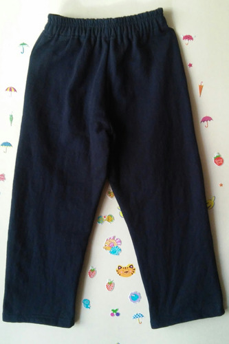 dos pantalón de buzo de colegio talla 4 a la 10 a $15.000